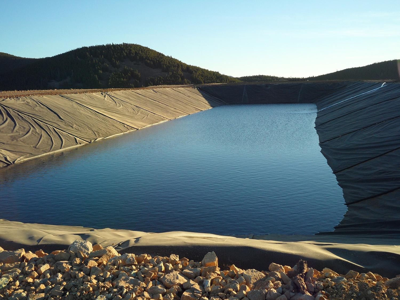 HDPE polietilen gölet yalıtımı